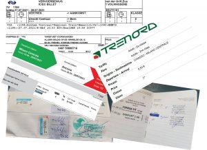 Tickets en vaccinaties